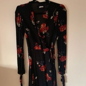 Reformation floral dress, size small